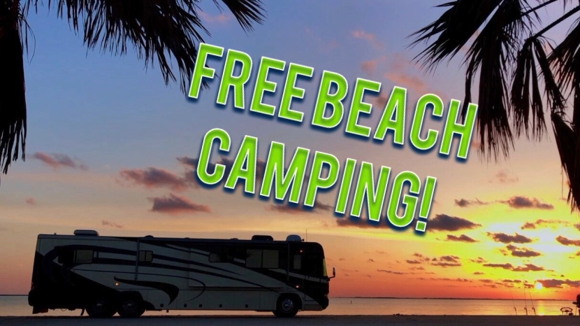 Texas Sand Castles & RV Beach (Part 2) – Free Beach Bon-docking in Texas