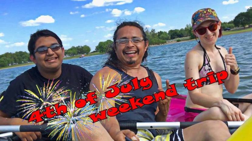 FREE 4th of July Boondocking in Texas at Lake Whitney (PartOne)