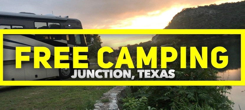 FREE No Reservation Required Boon-docking in Junction Texas